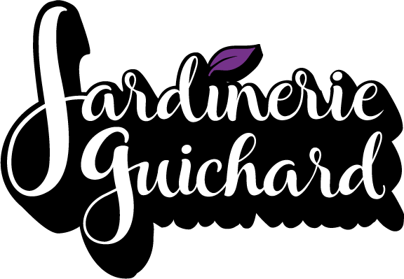 Logo Jardinerie Guichard Biarritz Blanc