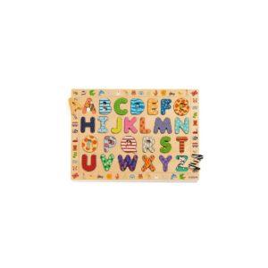Puzzles éducatif bois-ABC - Djeco