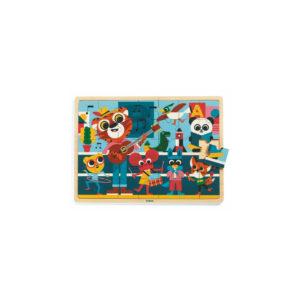 PUZZLES BOIS - Puzzlo Music - Djeco