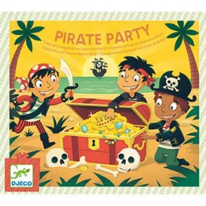 JEU ANNIVERSAIRE - Pirate Party - Djeco