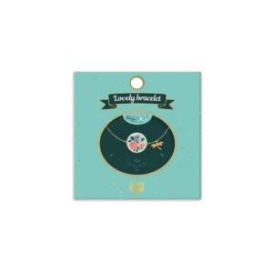 LOVELY BRACELETS - Bracelet fleurs