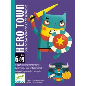 JEU DE CARTES - Hero Town - Djeco