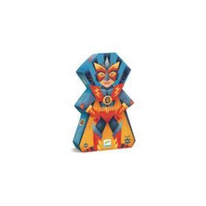 PUZZLE SILHOUETTE - Laser Boy 36 pcs - Djeco