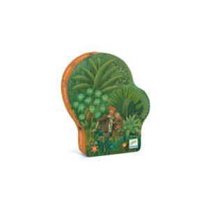 PUZZLE SILHOUETTE - Dans la Jungle 54 pcs - Djeco