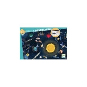 PUZZLE OBSERVATION - L'Espace + livret 200 pcs - FSC MIX - Djeco