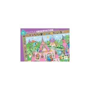 PUZZLE OBSERVATION - Princesse - 54pcs - FSC MIX - Djeco