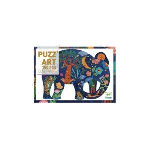 PUZZ'ART - Elephant - 150 pcs - FSC MIX - Djeco