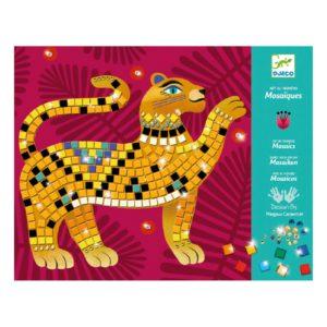 DIY - Mosaïques & Stickers-Animaux de la jungle - Djeco