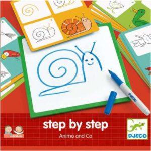 EDULUDO - Step by step - Animals & Co - Djeco