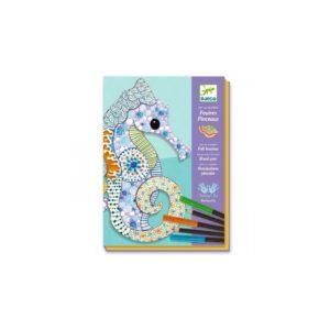 DESSIN & coloriage l'art du motif - Djeco