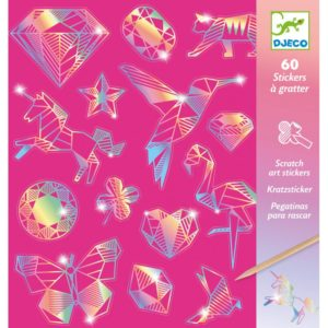CARTES à gratter diamond - Djeco
