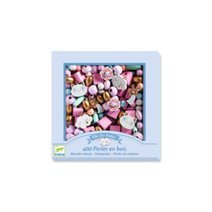 Perles et bijoux-Perles bois - Arc-en-ciel - Djeco