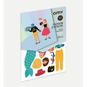 CREATIVE kit fashion stickers - OMY