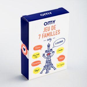 JEU de 7 familles - OMY